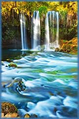 Antalya Waterfall Duden jigsaw puzzle