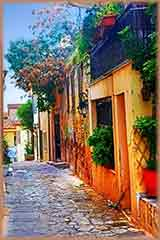 Athens Greece Houses jigsaw puzzle