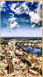 Mobile - PC Boston Aerial view jigsaw puzzle