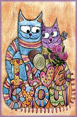 Cat Love jigsaw puzzle