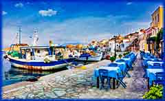 Mobile - PC Group of  Chalki island jigsaw puzzle