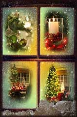 Christmas scenes jigsaw puzzle