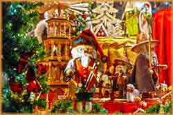 Christmas tree and toys Jigsaw Puzzle