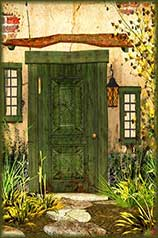Cottage Door jigsaw puzzle