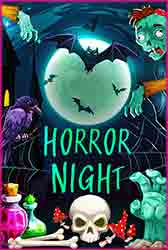 Halloween horror night party Jigsaw Puzzle
