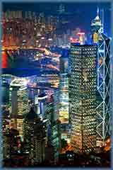 Hong Kong night jigsaw puzzle