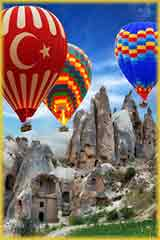 Hot air balloon Cappadocia jigsaw puzzle