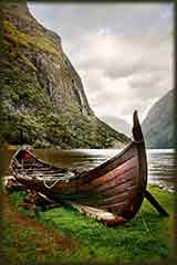 Norway viking boat jigsaw puzzle