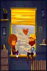 Two lovers Jigsaw Puzzle
