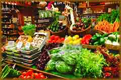 Mobile - PC Vegetable market stall jigsaw puzzle