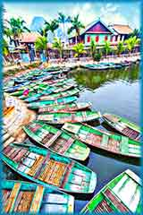 Vietnamese boats jigsaw puzzle