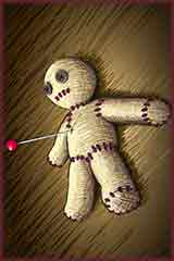 Voodoo doll Jigsaw Puzzle