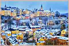 Mobile - PC Winter in Luxembourg jigsaw puzzle