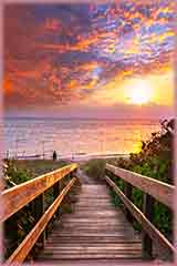 beach boardwalk jigsaw puzzle