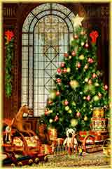 christmas gifts trees jigsaw puzzle