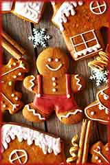 christmas gingerbread cookies jigsaw puzzle