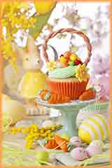 easter cupcake jigsaw puzzle