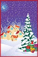 eve of Christmas Jigsaw Puzzle
