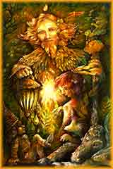 forest guardian spirit jigsaw puzzle