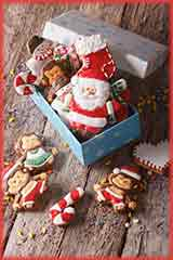 gingerbread cookies box Jigsaw Puzzle