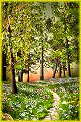 summer pathway jigsaw puzzle