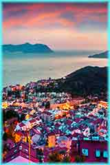 sunset in Mediterranean jigsaw puzzle