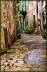 tuscan alley jigsaw puzzle