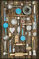 vintage kitchen tools puzzle
