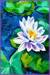 water lily painting jigsaw puzzle