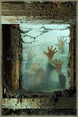 zombies outside_window Jigsaw Puzzle